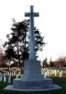 The Canadian Cross of Sacrifice at Arlington National Cemetery