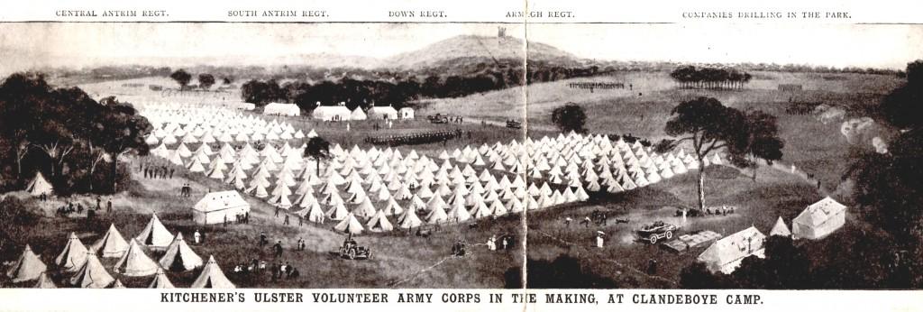 Clandeboye Camp, 1914
