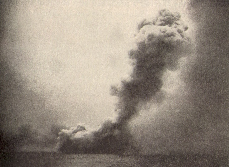 The destruction of HMS Queen Mary