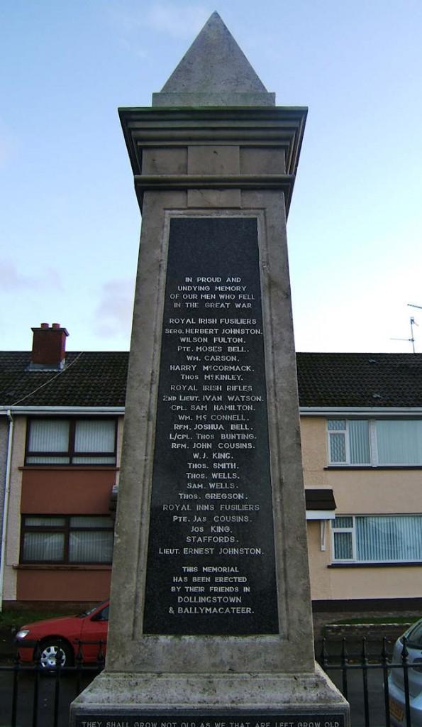 Dollingstown War Memorial
