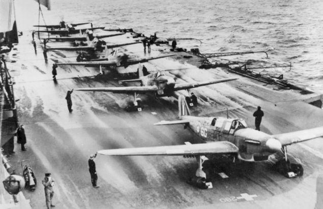 Fairey Fulmars at Sea