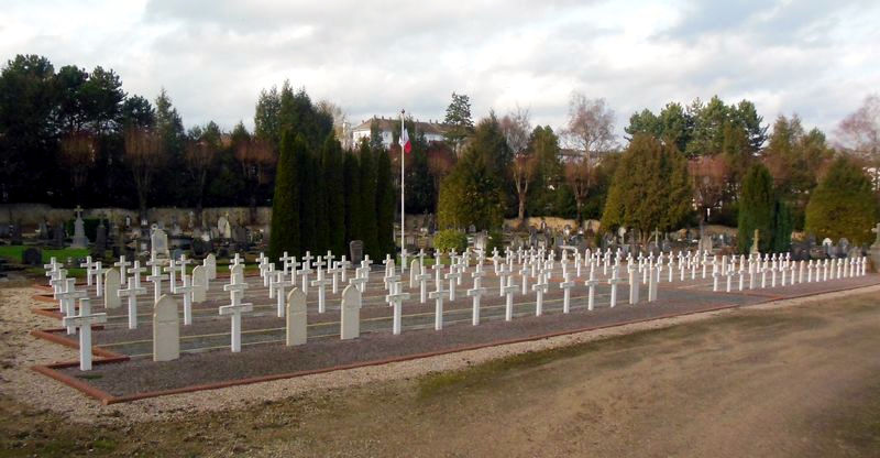 French military graves at Charleville