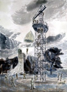 The Training Tower at Largo by Edward Bawden