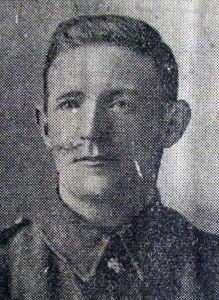 Acting Regimental Sergeant Major James Latimer