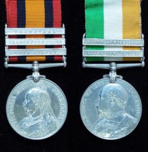 The Queen's and King's South Africa Medals