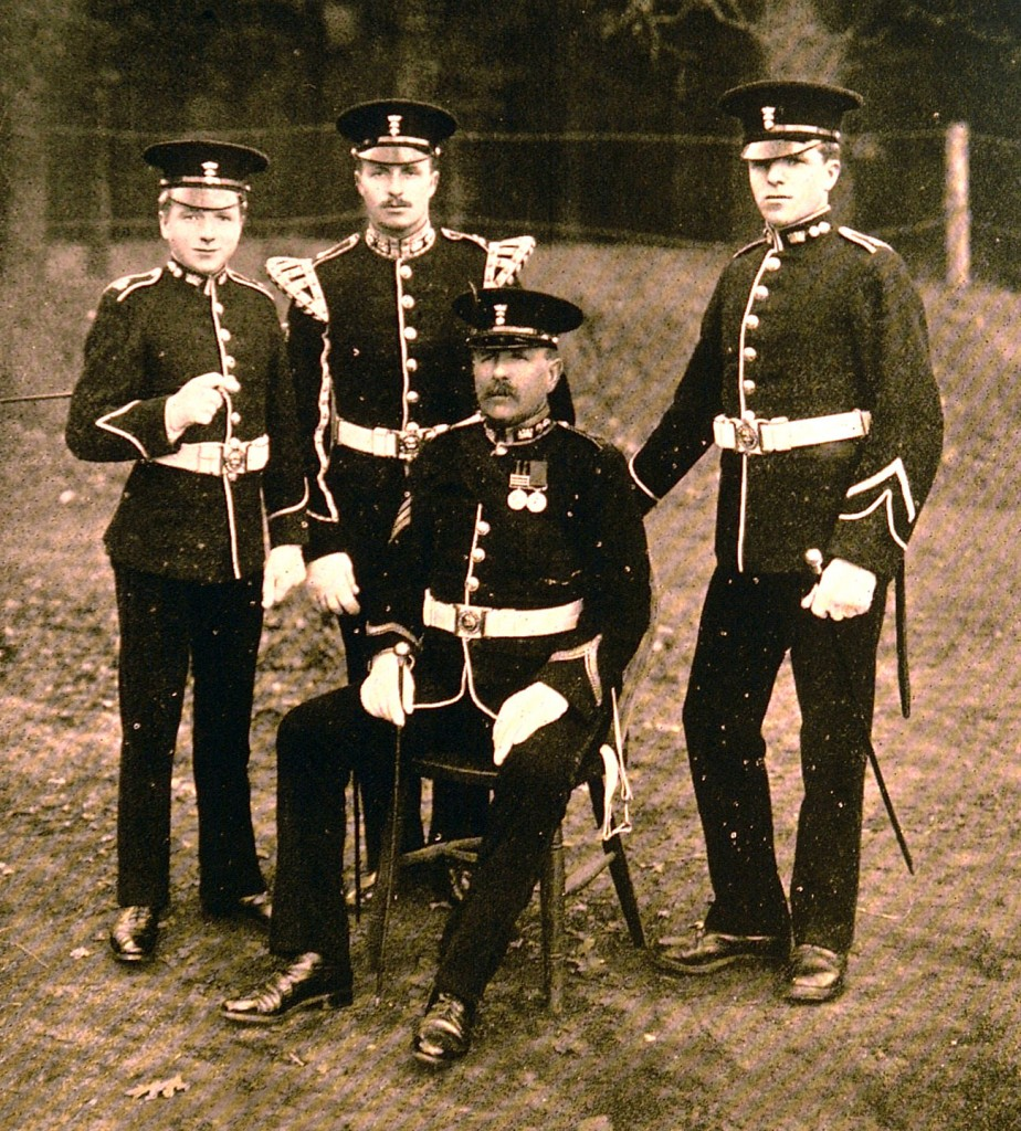 Pioneer Sergeant A L W Steele and his sons