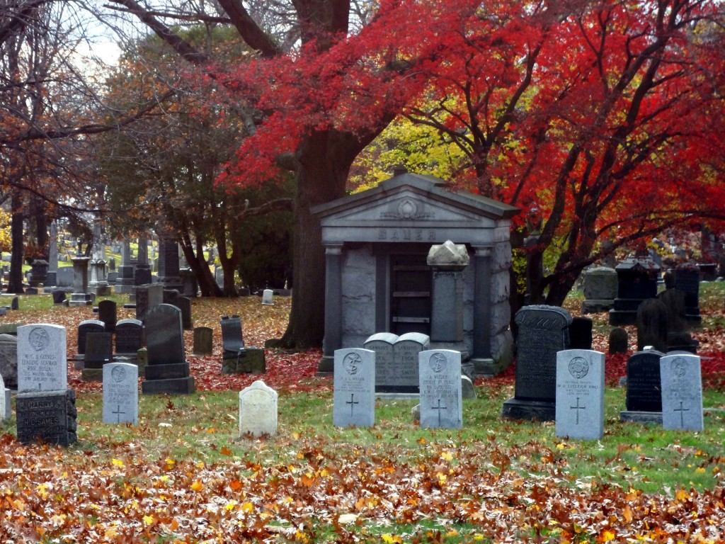 The Seamen's Church Institute Plot, The Evergreens Cemetery, Brooklyn