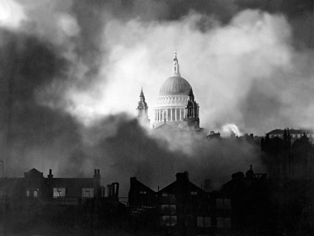 St Paul's Cathedral, 29 December 1940