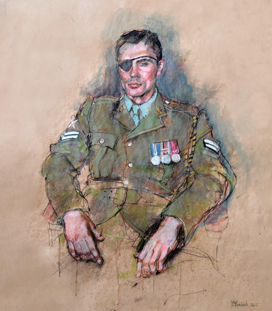 Corporal David Timmins QGM